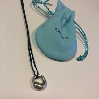 ティファニー(Tiffany & Co.)のティファニーエターナルサークルネックレスSV925エルサペレッティ(ネックレス)