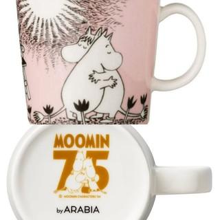 アラビア(ARABIA)の【新品】 アラビア ムーミン ラブ マグカップ マグ 75周年 2020(グラス/カップ)