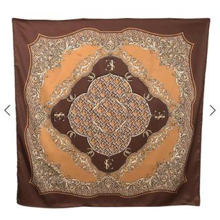 エイミーイストワール(eimy istoire)のLimited ES pattern スカーフ ブラウン(バンダナ/スカーフ)