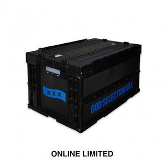 エフシーアールビー(F.C.R.B.)のGOD SELECTION XXX コンテナ BLACK × BLUE(ケース/ボックス)