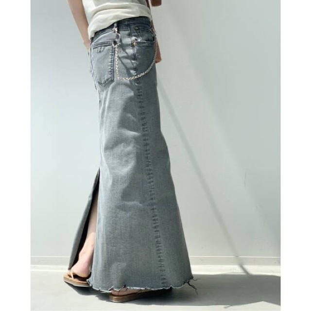 L'Appartement DEUXIEME CLASSE(アパルトモンドゥーズィエムクラス)の【GOOD GRIEF/グッドグリーフ】DENIM LONG スカート レディースのスカート(ロングスカート)の商品写真