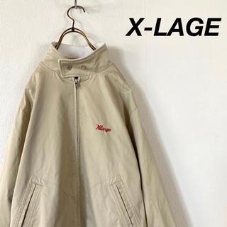 エクストララージ(XLARGE)のX-LAGE スイングトップ  裏地 タータンチェック 野暮カラー(ブルゾン)