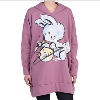 ヴィヴィアンウエストウッド(Vivienne Westwood)のVivienneWestwood bunny honey パーカー(パーカー)
