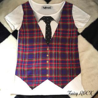 ファンキーフルーツ(FUNKY FRUIT)のFUNKYFRUIT*だまし絵Tシャツ(Tシャツ(半袖/袖なし))