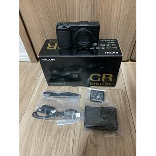 リコー(RICOH)の【まっさん様専用】RICOH GR DIGITAL Ⅳ(コンパクトデジタルカメラ)