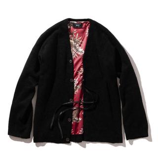 グラム(glamb)の未使用新品 glamb グラム Floria big cardigan(ニット/セーター)