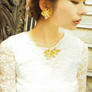 タサキ(TASAKI)の新品♡ akarih fleur pearl necklace パールネックレス(ネックレス)