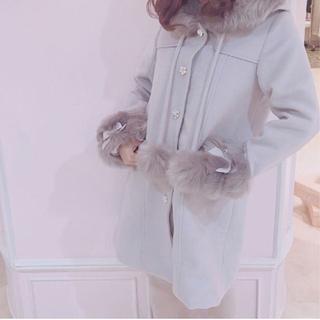 スワンキス(Swankiss)のSwankiss wool fur C/T(ロングコート)