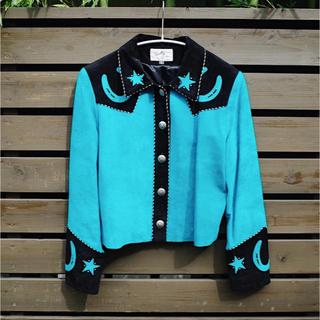アメリヴィンテージ(Ameri VINTAGE)のVintage Western suede jacket(ライダースジャケット)