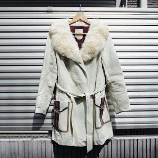 アメリヴィンテージ(Ameri VINTAGE)の70's Vintage Fur collar leather jacket(毛皮/ファーコート)