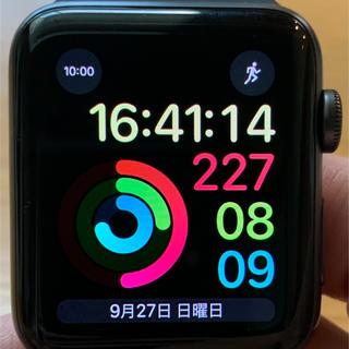 アップルウォッチ(Apple Watch)のApple Watch series3 44mm GPSモデル(その他)