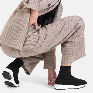 マミアン(MAMIAN)のMAMIANマミアンスニーカーブーツほぼ未使用(ブーツ)