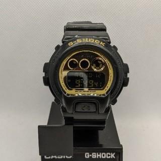 ジーショック(G-SHOCK)のG-SHOCK DW-6900CB ブラック&ゴールド(腕時計(デジタル))