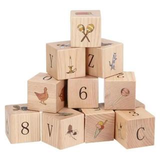 コドモビームス(こどもビームス)のkongessloejd 100%天然木製積み木/WOODEN BLOCKS(積み木/ブロック)