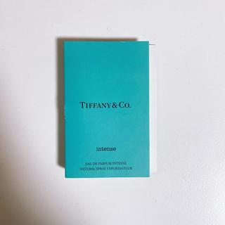 ティファニー(Tiffany & Co.)のティファニー オードパルファム インテンス 1.2mlサンプル(香水(女性用))