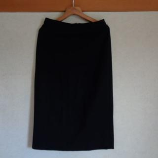 マックスマーラ(Max Mara)のマックス・マーラ WEEKEND タイトスカート 黒 size40(ロングスカート)