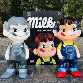 MILKY THE CONVENI 不二家ソフビコレクション ペコちゃん(キャラクターグッズ)