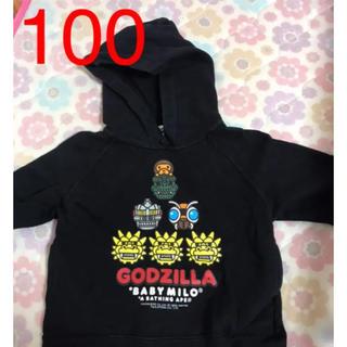 A BATHING APE - 値下エイプ トレーナー 100 子供 キッズ