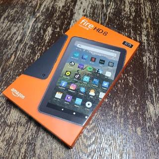 amazon fire HD8 タブレット 32GB ブラック 新品未使用(タブレット)