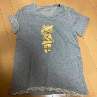 franche lippee - フランシュリッペ はにわクマTシャツ