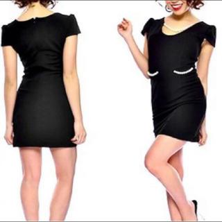 デイジーストア(dazzy store)の【 新品 】パール付き ♡ ミニドレス(ナイトドレス)