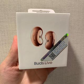 ギャラクシー(Galaxy)のGalaxy Buds Live  ブロンズ 香港版 未開封(ヘッドフォン/イヤフォン)