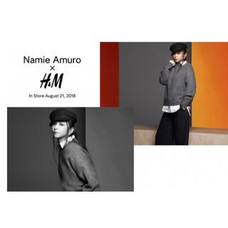 エイチアンドエム(H&M)の安室奈美恵×H&Mコラボ キャスケット(キャスケット)