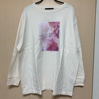 ヘザー(heather)の【HEATHER 】キラキラロンT(Tシャツ(長袖/七分))
