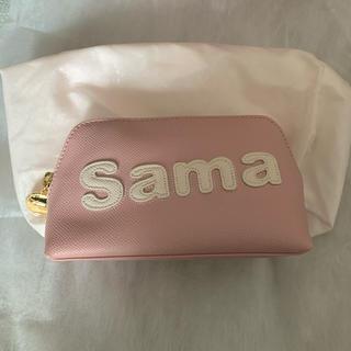 Samantha Thavasa - サマタバポーチ 大サイズ ピンク 未使用