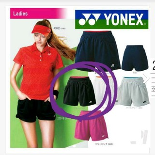 ヨネックス(YONEX)のYONEX パンツ 試合用 レデース ブラック×ピンク(ウェア)
