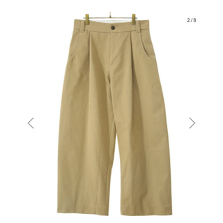 1LDK SELECT - STUDIO NICHOLSON BEN VOLUME PLEATS PANTS