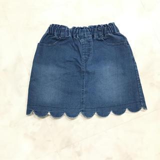 プティマイン(petit main)のpetit main デニムスカート 110cm(スカート)