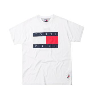 シュプリーム(Supreme)のkith × tommy hilfiger tee white Mサイズ(Tシャツ/カットソー(半袖/袖なし))