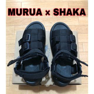 ムルーア(MURUA)の【MURUA×SHAKA】チャンキーソールサンダル(サンダル)