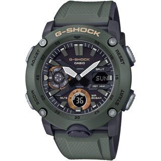 ジーショック(G-SHOCK)のカシオ G-SHOCK ミリタリーテイスト カーボンコアガード 腕時計 グリーン(腕時計(アナログ))