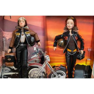 バービー(Barbie)のnew バービー人形 『ハーレーダビッドソンコラボ 』2体セット【ビンテージ品】(人形)