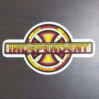 インディペンデント(INDEPENDENT)の(縦10.5cm横17.8cm)INDEPENDENT ステッカーラスト1枚(スケートボード)