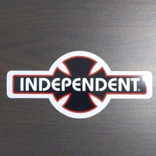 インディペンデント(INDEPENDENT)の(縦8.3cm横17.8cm)INDEPENDENTステッカー(スケートボード)