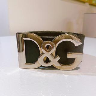 DOLCE&GABBANA - お値下げ❣️D&G Dolce&Gabana ドルガバ ベルト 革ベルト