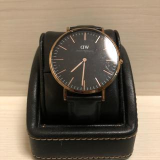 ダニエルウェリントン(Daniel Wellington)のダニエル・ウェリントン 腕時計 黒(腕時計(アナログ))