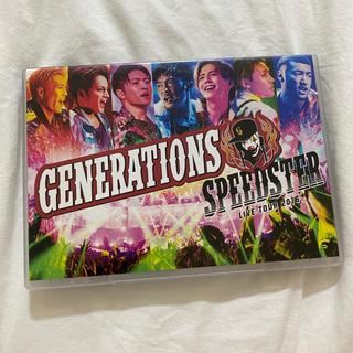 ジェネレーションズ(GENERATIONS)のGENERATIONS LIVE TOUR 2016 SPEEDSTER Blu(ミュージック)