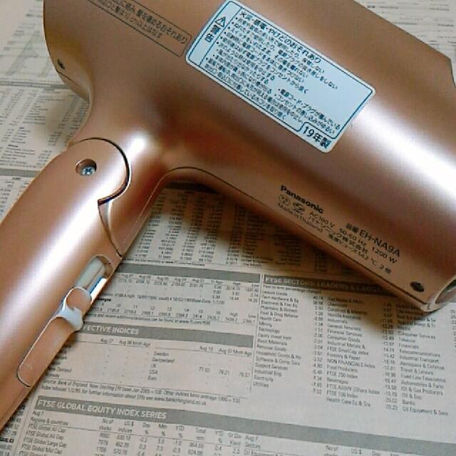 Panasonic(パナソニック)のPanasonic ナノケア ドライヤー eh-na9a eh-cna9a スマホ/家電/カメラの美容/健康(ドライヤー)の商品写真