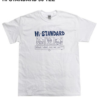 ハイスタンダード(HIGH!STANDARD)のハイスタ ハイスタンダード Hi-STANDARD  XLサイズ Tシャツ(ミュージシャン)