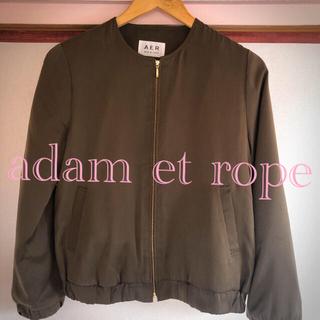 アダムエロぺ(Adam et Rope')のカーキ ジャケット アダムエロペ(テーラードジャケット)