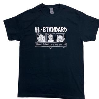 ハイスタンダード(HIGH!STANDARD)のハイスタ ハイスタンダード Hi-STANDARD  Tシャツ XL(ミュージシャン)