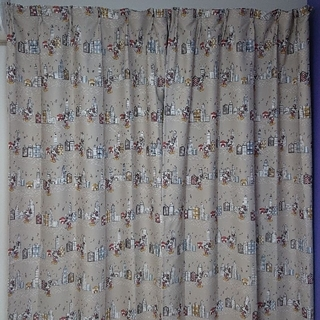 ベルメゾン(ベルメゾン)のミッキー 遮光カーテン(カーテン)