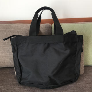 ムジルシリョウヒン(MUJI (無印良品))の荷物の量で広げられる 撥水 トートバッグ(トートバッグ)