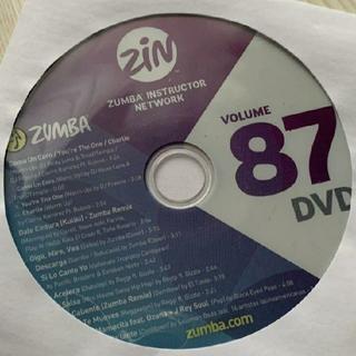 ズンバ(Zumba)の【choko様専用】ZUMBA  ZIN87 DVD&CD(スポーツ/フィットネス)
