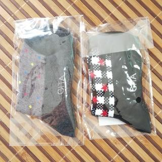 ベルメゾン(ベルメゾン)の【新品】靴下16~18cm 2足 ベルメゾン GITA(靴下/タイツ)