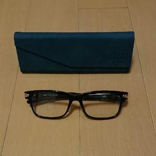 フォーナインズ(999.9)のメガネフレーム フォーナインズ NPM-85 9001ブラック(サングラス/メガネ)